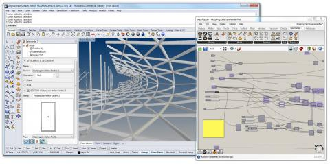Salamander 3 enables the modelling and parametric generation of structural analysis and BIM models.