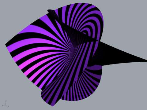 Lutralutra is .ghuser files for Grasshopper and Math Functional Surface Generator.