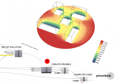 Compute orchestrates and scales building physics simulation tasks in the cloud, such as CFD and Radiance.