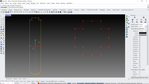 Allows you to draw a rectangle with inverted fillets in the 4 angles