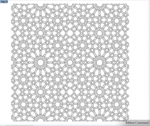 Islamic Ornament drawing assistant