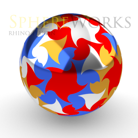 Spheres Ornaments design assistant For Rhino 6. Free To Try.