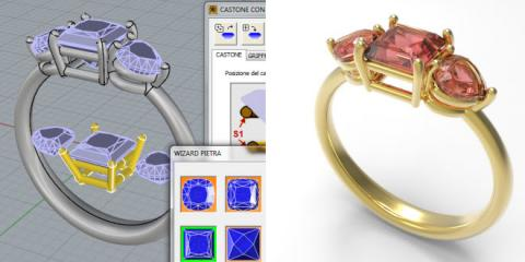 Pro-Jewellery a collection of jewellery professional plug-ins developed in collaboration of the largest brand of Made In Italy.