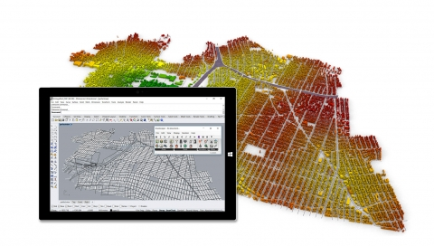 Site analysis and mobility simulations