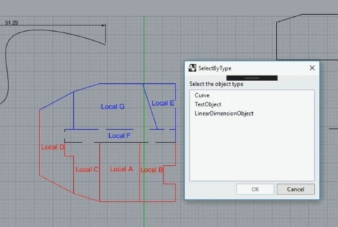 This plugin for Rhino6 provides additional Selection Tools.