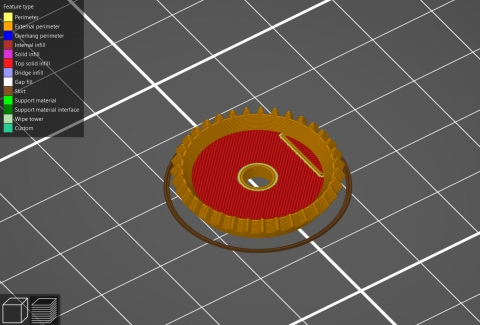 Gear is a simple way to generate involute gear