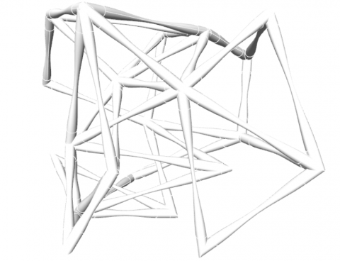 ExoPipe thicken a wireframe with Brep