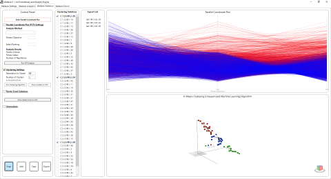 Wallacei is an evolutionary multi-objective optimization engine for Grasshopper 3D - Giving users full control over their evolutionary simulations.