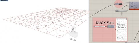 Ducks queue all the time. A series of grasshopper components help to sort all kind of geometry (points, curves,breps, meshes)