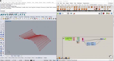 JumpingFrog|Robot is a Grasshopper plugin which brings you interaction features between McNeel's Grasshopper and Autodesk Robot Structural Analysis.