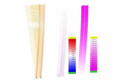 WS-Snake is a Grasshopper plug-in which helps architects and engineers to measure wind pressure on a building envelope.