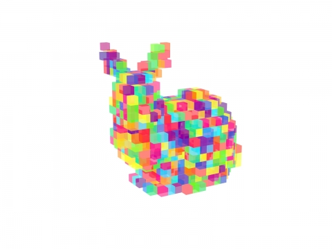 Voxelizer provides a set of functions to voxelize a mesh.