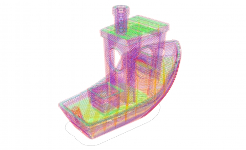 3D printing related Library including model Slicing, Custom paths and G-code generation from desktop machines to 6 DOF Robots using FFF Technology.