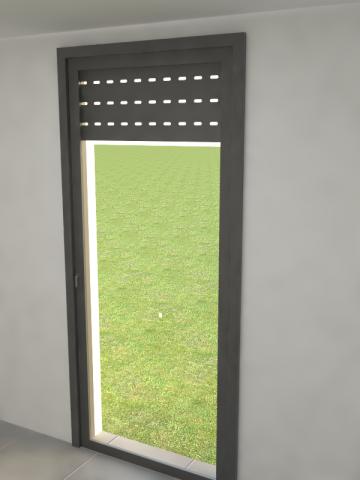 Multi ventana - puerta - Persiana de lamas.
