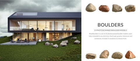VP COMPLETE is the ultimate collection of 3D models, textures and hdris for architectural visualization in Rhino 5 and v-ray with over 700 HQ assets.