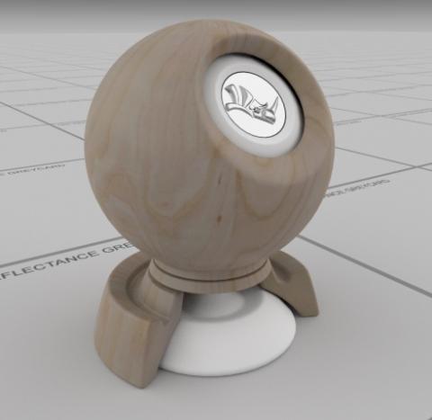 wood- Greyish Pine PBR