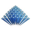 3D Graphic Statics (3GS) is an open-source research and development platform for 3D graphic statics based on polyhedral reciprocal diagrams built with the COMPAS framework.