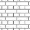 Flemish Bond Brickwork with Joints