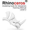 Rhino 5 Level 2 Training Guide and Models available in English, French, German, Spanish, French, Italian, Japanese and Corean