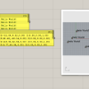 This simple script references Text objects drawn in Rhino, and outputs the orientation plane and the text.