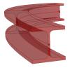 Split a VisualARQ beam in different parts