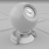 physically based - hexagon mesh