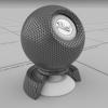 physically based - hexagon mesh 2