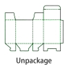 A simple tool for quick output of tangent lines of packing boxes, with rich options and interfaces, automatically generates expansion drawings.