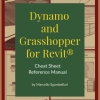"""This book is a collection of side by side Dynamo and Grasshopper examples in a one-page summary format also referred to as """"Cheat Sheets""""."""