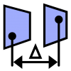 DistanceParallel is a python command for Rhino that measures the distance between two parallel planar surfaces.