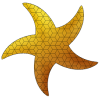 This is the first release of Starfishplug-in that allowsparametric generation of various patterns.It focuses on 2d tessell