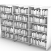 simple bookshelf, but with books. looks far nicer in visualizations