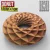 This definition helps you to turn a parametric Torus into fabrication sections using a series of rotating planes.