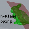 This is a tutorial on how to clip a mesh with a clipping plane. It covers the underlying datastructures and algorithms in detail.