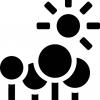 """""""向日葵日照""""是一个运行在Rhino平台实时日照分析、自动统计指标的插件 """"Sunflower solar""""is a plug-in running on rhino platform for real-time sunshine analysis and automatic statistic"""