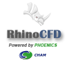 RhinoCFD adds the power of computational fluid dynamics to the CAD environment, allowing users of Rhino3d to undertake CFD investigation