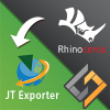 SimLab JT exporter for Rhino plugin enables Rhino users to export their 3D models in *.jt file format. The plugin is supported on Rhino 5, and Rhino