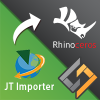 SimLab JT importer for Rhino plugin enables Rhino users to import their 3D models in *.jt file format. The plugin is supported on Rhino 5,and Rhino 6